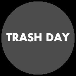 Trash Pick-Up Day