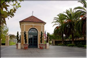 Pelican Crest front entrance.
